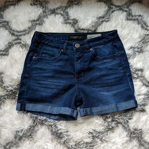 Aeropostale high waisted midi shorts